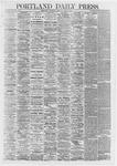 Portland Daily Press: May 09,1867