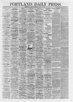 Portland Daily Press: May 25,1867