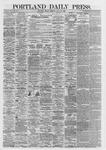 Portland Daily Press: July 19,1867