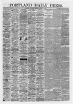 Portland Daily Press: August 01,1867