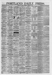 Portland Daily Press: August 13,1867