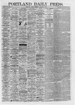 Portland Daily Press: August 16,1867