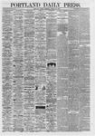 Portland Daily Press: August 23,1867