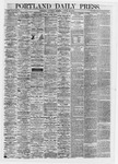 Portland Daily Press: August 10,1867