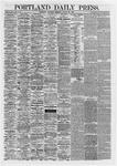 Portland Daily Press: August 29,1867