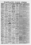 Portland Daily Press: October 25,1867
