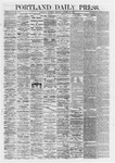 Portland Daily Press: October 26,1867