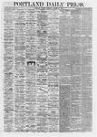 Portland Daily Press: October 28,1867