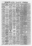 Portland Daily Press : January 14,1868