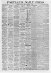 Portland Daily Press : February 19,1868