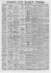 Portland Daily Press: March 02,1868