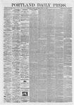 Portland Daily Press: March 13,1868