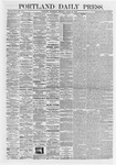 Portland Daily Press: March 25,1868