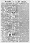 Portland Daily Press: March 27,1868