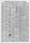 Portland Daily Press: March 30,1868