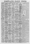 Portland Daily Press: April 22,1868