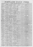 Portland Daily Press: April 23,1868
