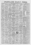 Portland Daily Press: April 25,1868