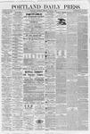 Portland Daily Press : June 25,1868