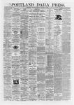 Portland Daily Press: August 13,1868