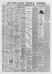 Portland Daily Press: August 25,1868