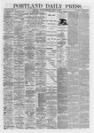 Portland Daily Press: August 27,1868