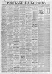 Portland Daily Press: October 12,1868