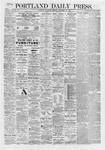 Portland Daily Press: November 28,1868