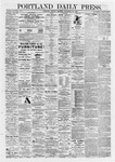 Portland Daily Press: November 30,1868