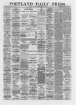 Portland Daily Press: April 15,1872
