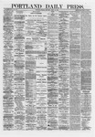 Portland Daily Press: April 16,1872