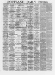 Portland Daily Press: April 20,1872