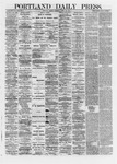 Portland Daily Press: April 22,1872
