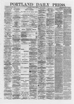 Portland Daily Press: April 23,1872