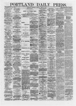 Portland Daily Press: April 24,1872