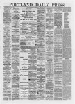 Portland Daily Press: April 25,1872