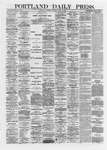 Portland Daily Press: April 27,1872