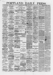 Portland Daily Press: April 30,1872