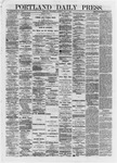 Portland Daily Press: May 01,1872