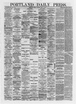 Portland Daily Press: May 03,1872