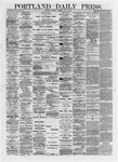 Portland Daily Press: May 07,1872