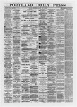 Portland Daily Press: May 09,1872