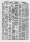 Portland Daily Press: May 10,1872