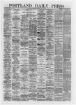 Portland Daily Press: May 11,1872