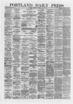 Portland Daily Press: May 15,1872