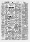 Portland Daily Press: May 20,1872