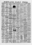 Portland Daily Press: May 25,1872