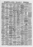 Portland Daily Press: May 30,1872