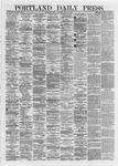 Portland Daily Press: May 31,1872