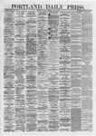 Portland Daily Press: June 01,1872